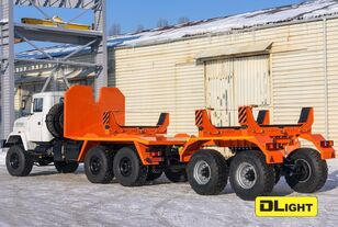 novi KRAZ 6322-05 šleper za prijevoz cevi