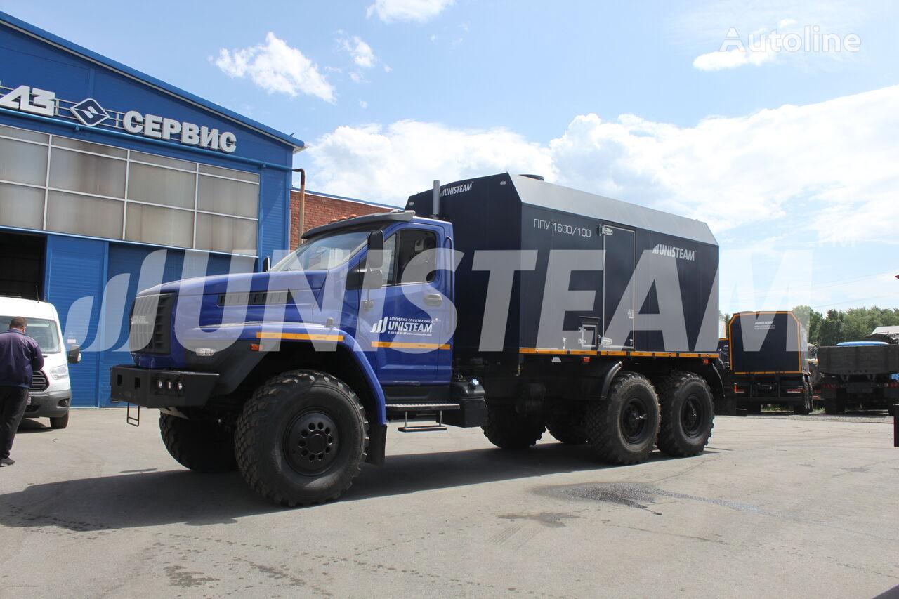 novi UNISTEAM PPUA 1600/100 serii UNISTEAM-M1 URAL NEXT 4320 vojni kamion