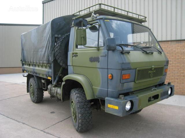 MAN 8.136 vojni kamion