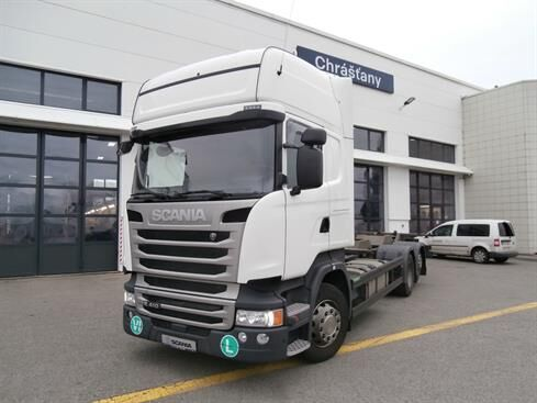 SCANIA R 410  vozilo za prijevoz kontejnera