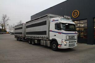 VOLVO FH12.480 6x4 vozilo za prijevoz ptica + prikolica furgon
