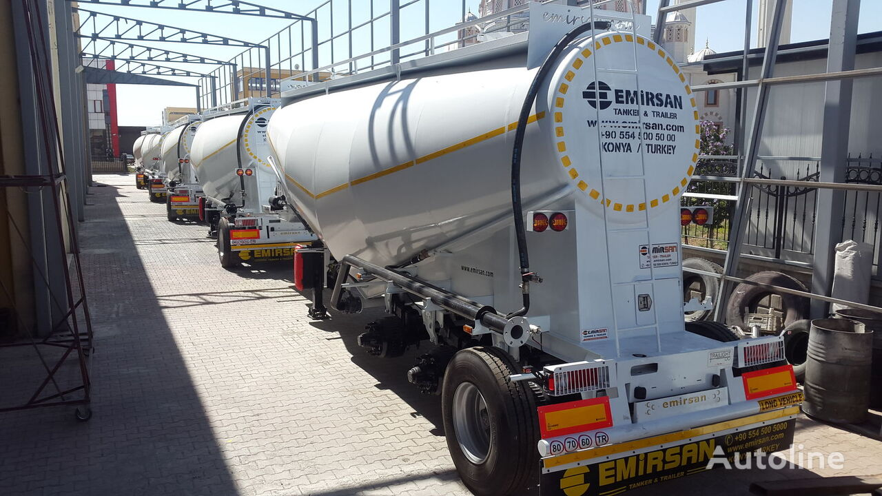 novi EMIRSAN Cement Trailer From Manufacturer , Direct from Factory .2020 Mod kamion za prijevoz cementa