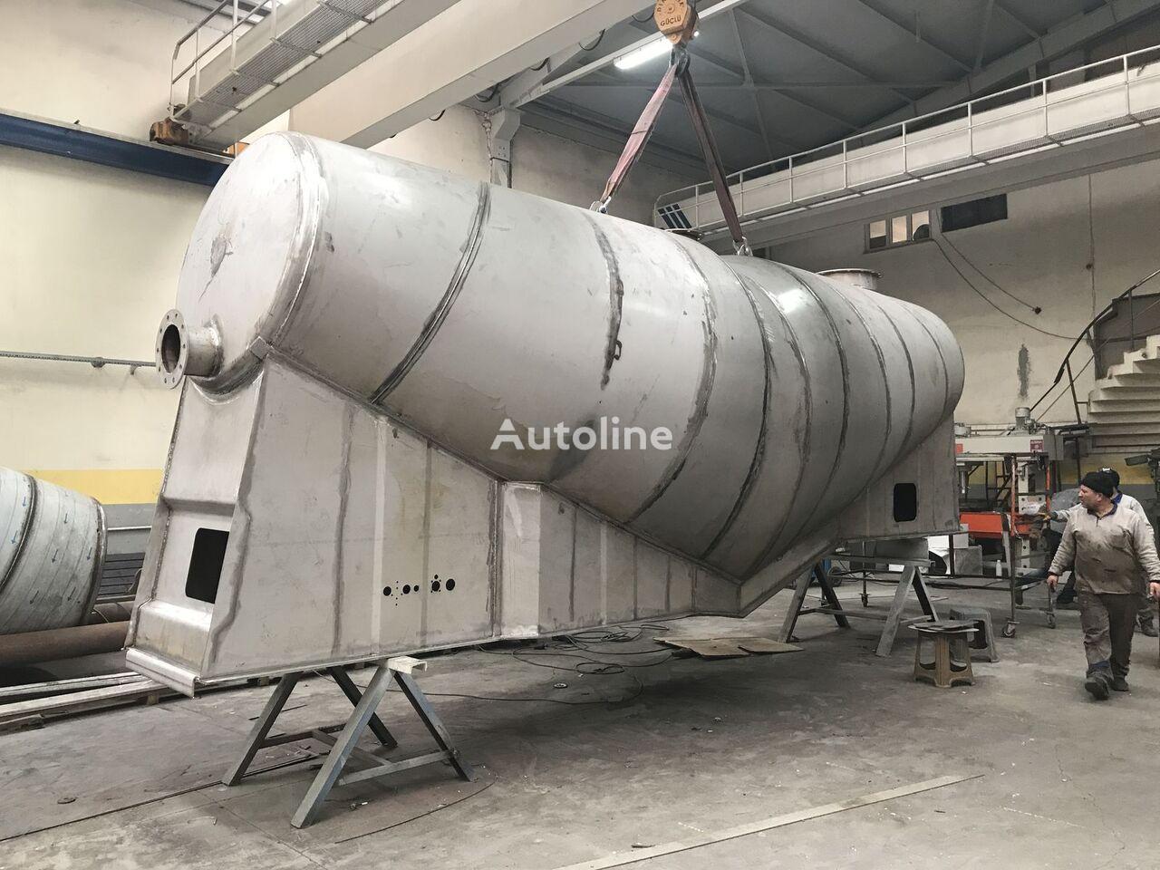 novi EMIRSAN Slurry Tank INOX 304L 4 mm kamion za prijevoz cementa
