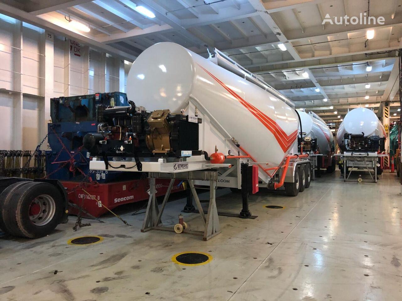 novi EMIRSAN V TYPE BULK kamion za prijevoz cementa