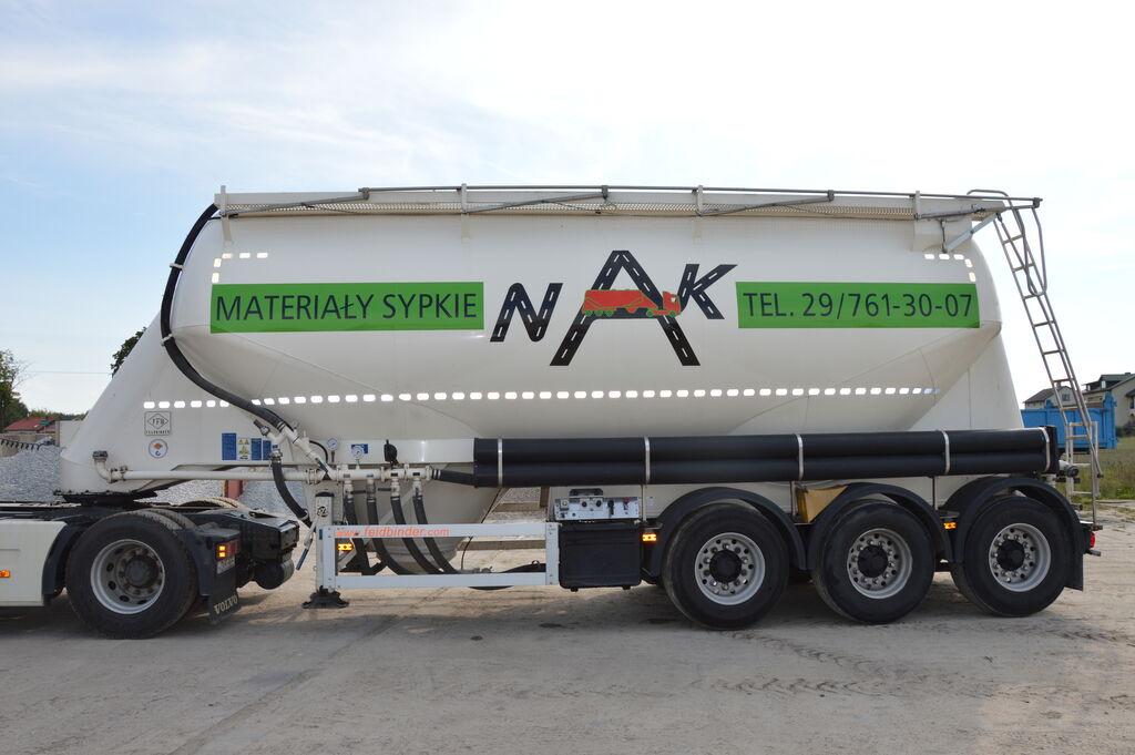 FELDBINDER EUT 37.3 kamion za prijevoz cementa