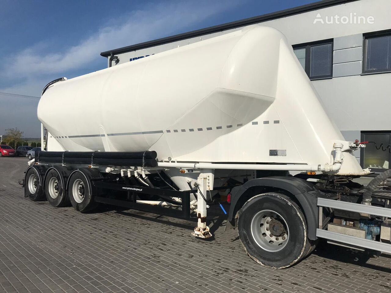 KASSBOHRER SSL35 kamion za prijevoz cementa