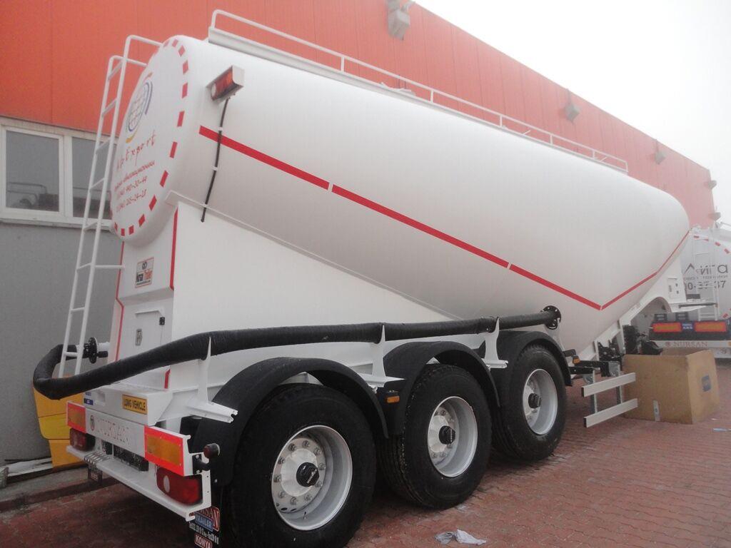 novi NURSAN 3ANRS kamion za prijevoz cementa
