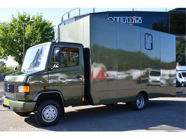MERCEDES-BENZ 609 DI paardentransport horsetruck pferdetransport kamion za prijevoz konja
