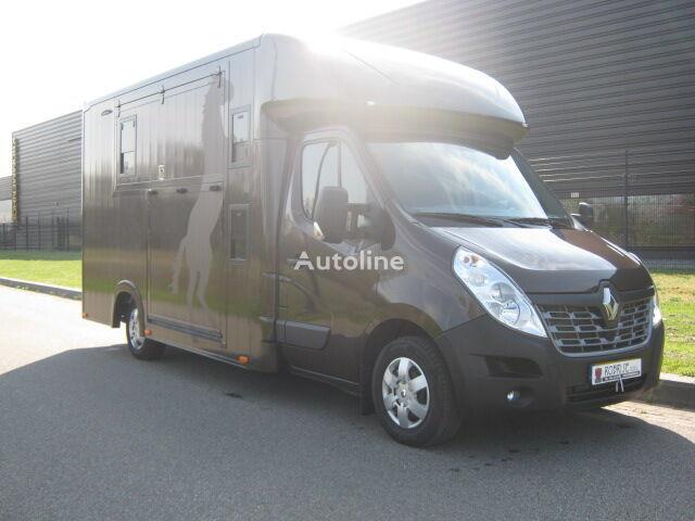 RENAULT Master 170 Dci Paardenvrachtwagen B rijbewijs kamion za prijevoz konja