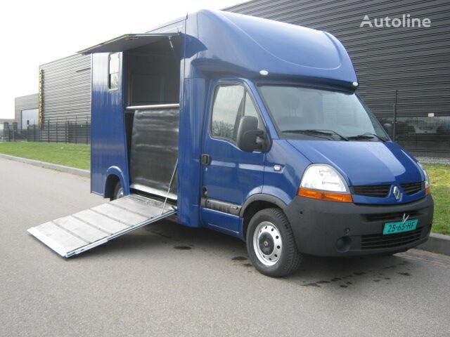 RENAULT Master 2.5 dCi Paardenvrachtwagen B rijbewijs kamion za prijevoz konja