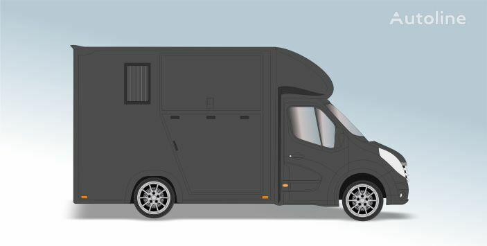 RENAULT Master T35 2.3 dCi L2 Paardenvrachtwagen kamion za prijevoz konja