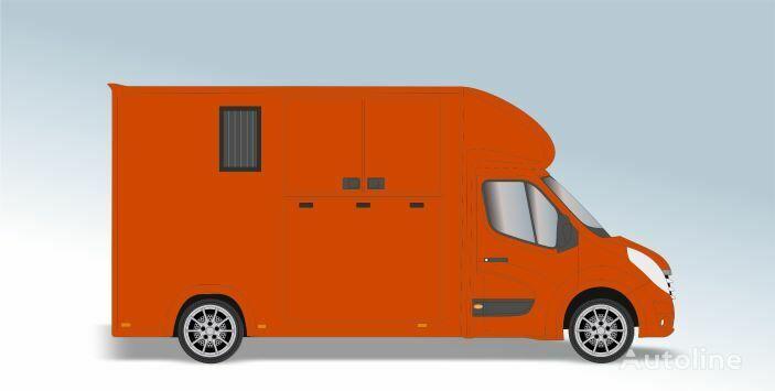 RENAULT Master T35 2.3 dCi L3 Paardenvrachtwagen kamion za prijevoz konja