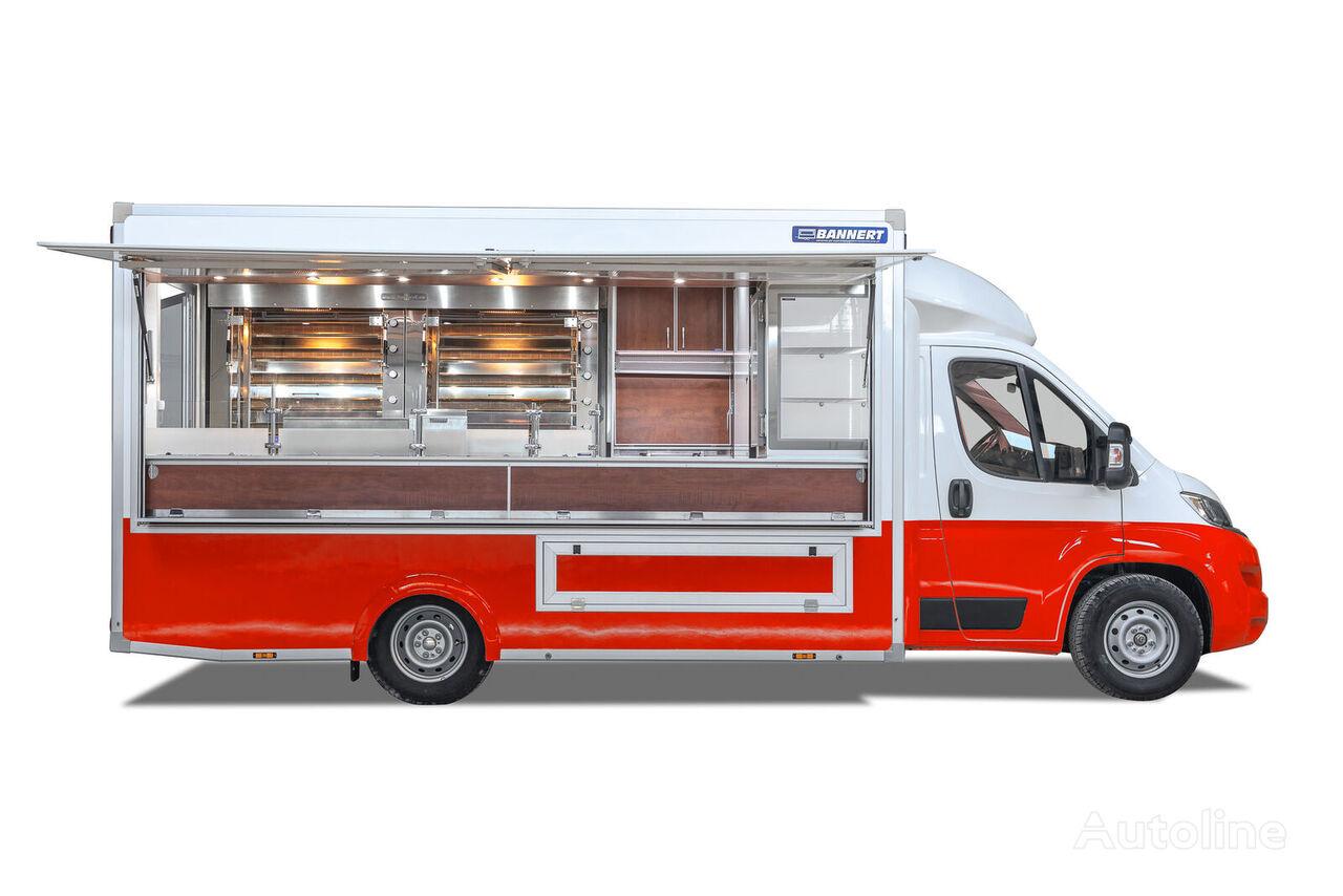 novi FIAT Grill Kurczak Food Truck Handlowy prodajni kamion < 3.5t