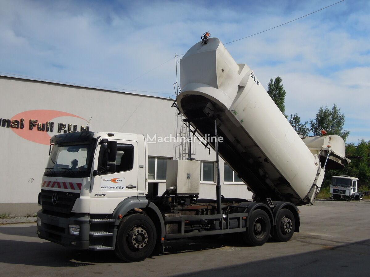 MERCEDES-BENZ Axor 2529 śmieciara podwozie wywrotka do zboża  166.000km kamion za smeće