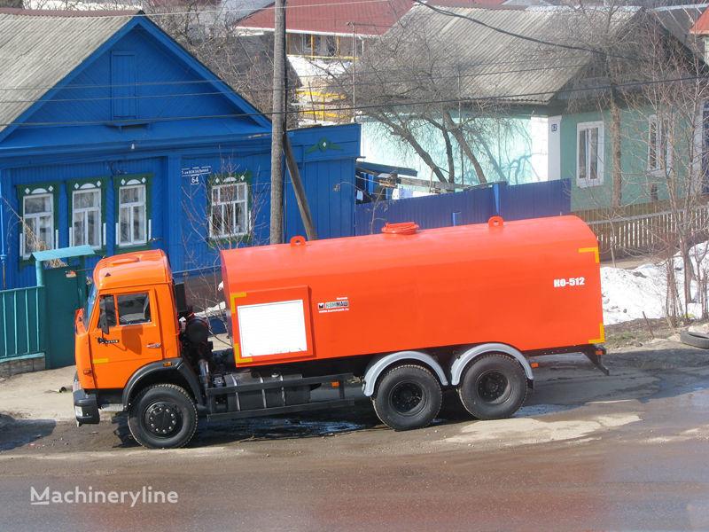novo KAMAZ Kanalopromyvochnaya mashina KO-512 vozilo za čišćenje kanalizacije