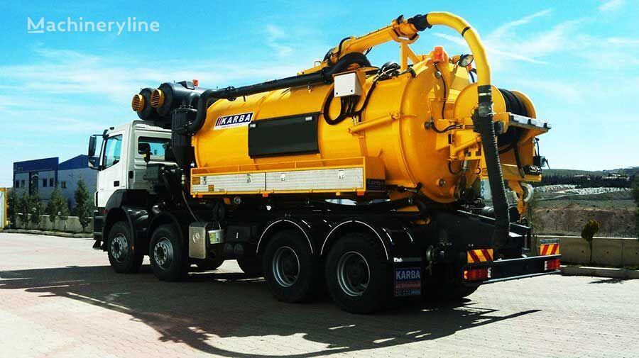 novo KARBA KRB 16 vozilo za čišćenje kanalizacije