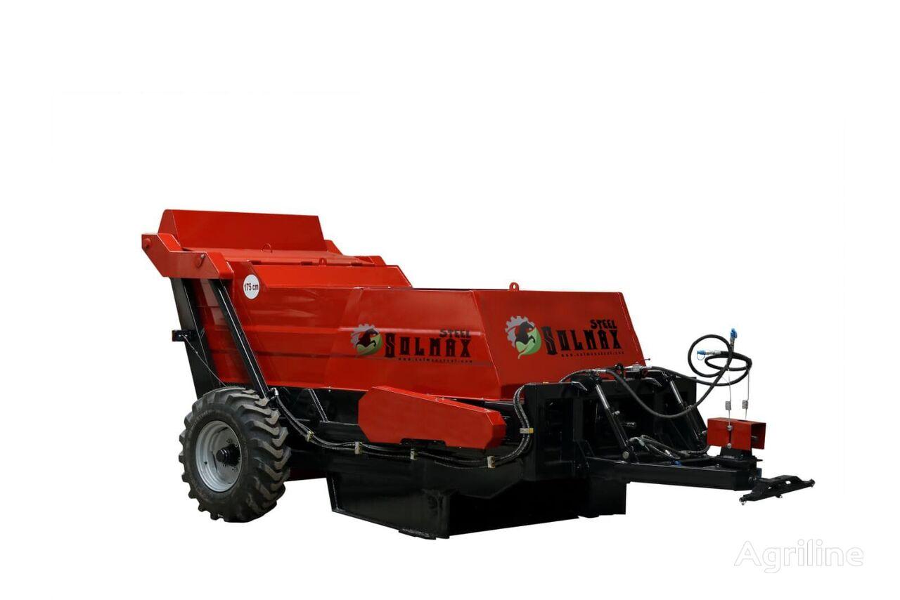nova SOLMAX STEEL XCF mašina za sakupljanje kamenja