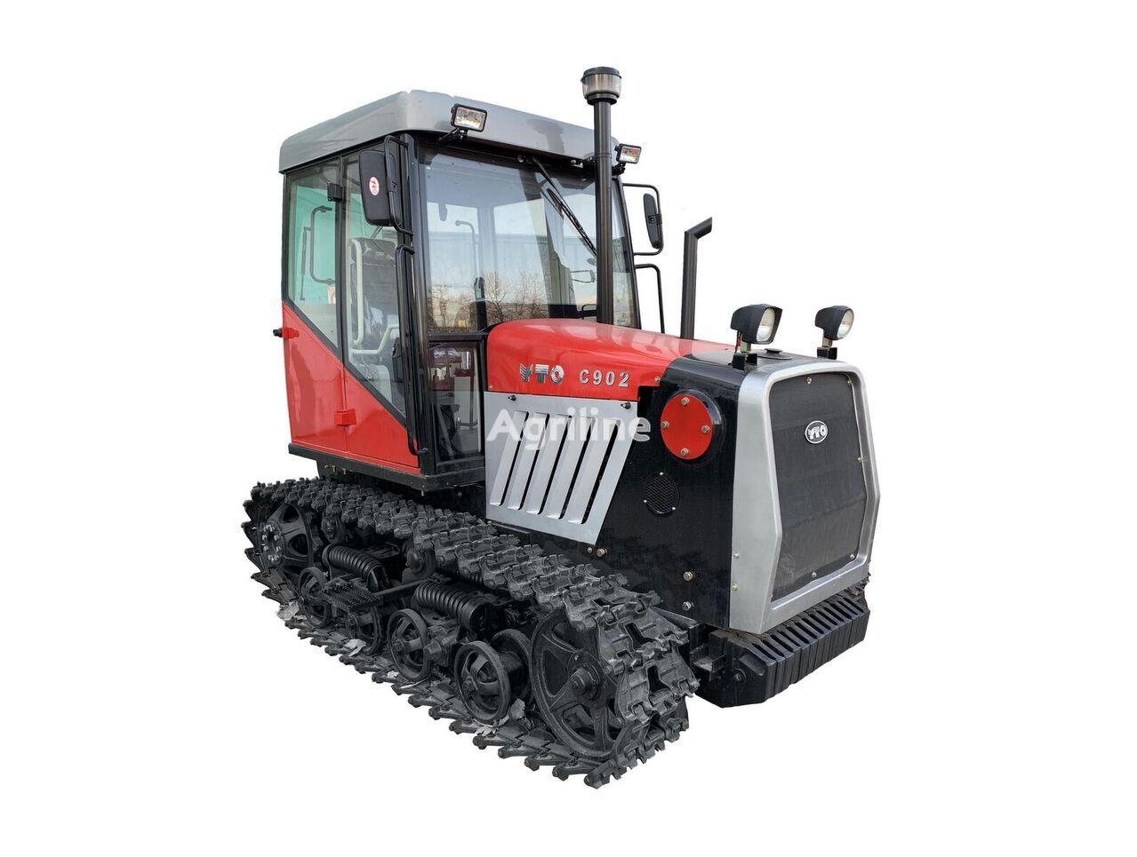 novi YTO C-902 traktor gusjeničar