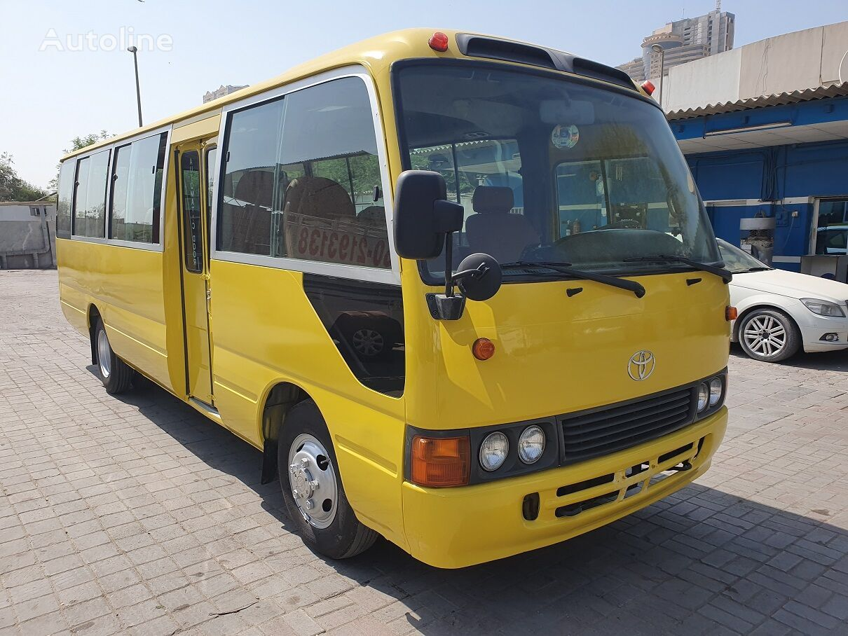 TOYOTA Coaster -- Japan made - pas un bus Chinois .... prigradski autobus