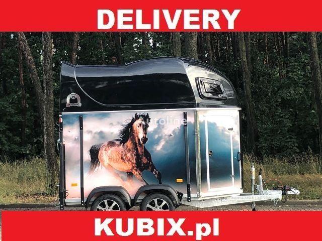 nova KUBIX Mustang Strong LaminaX prikolica za prijevoz konja