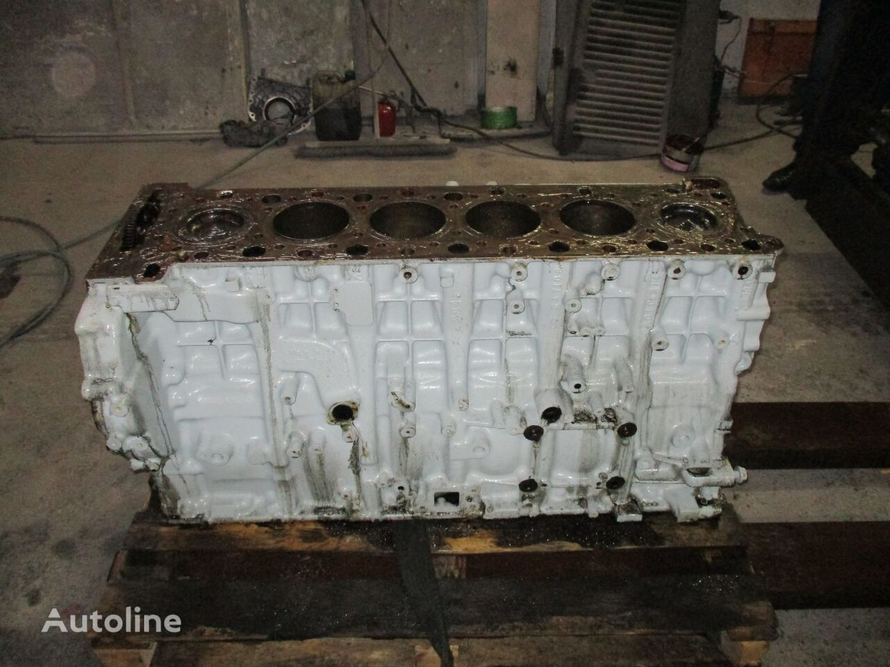 MERCEDES-BENZ Actros MP4, EURO 5, EURO 6 emission cylinder block, short block, blok cilindara za MERCEDES-BENZ Actros MP4 tegljača