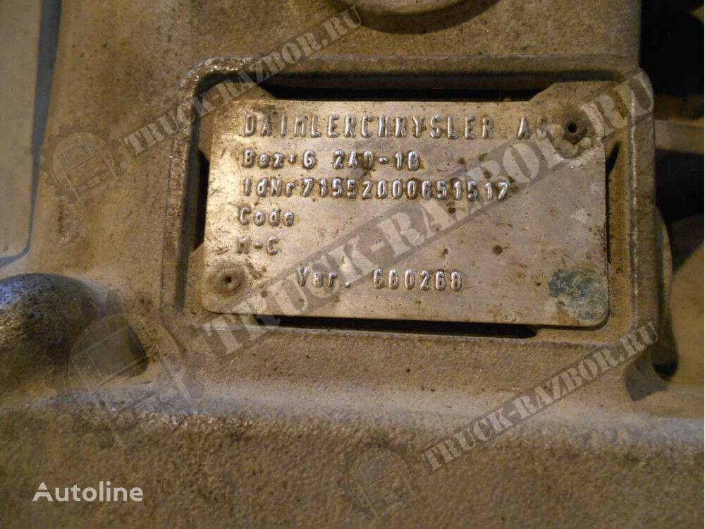 MERCEDES-BENZ mjenjač za MERCEDES-BENZ G240-16 tegljača