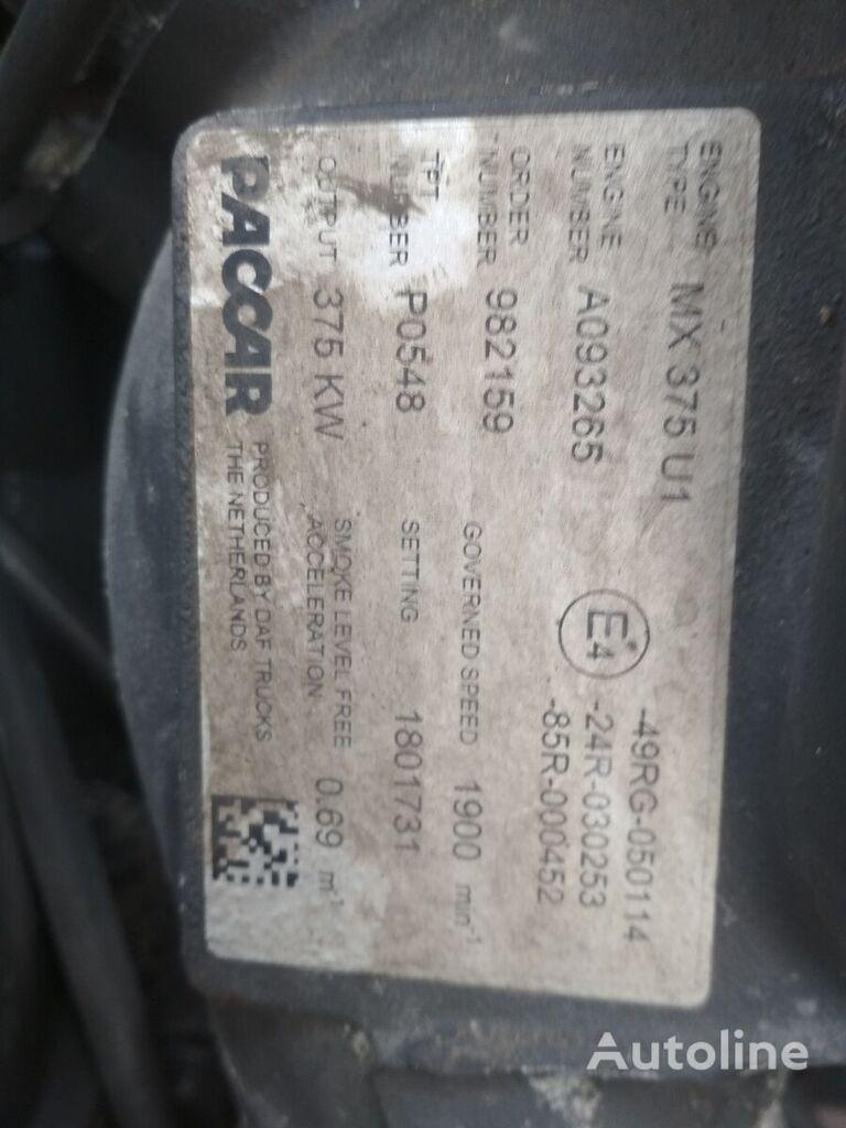 DAF PACAR MX 375 U1 motor za DAF tegljača