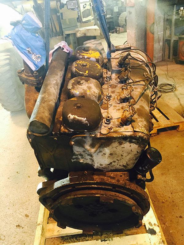 DEUTZ F4L 812 motor za tegljača