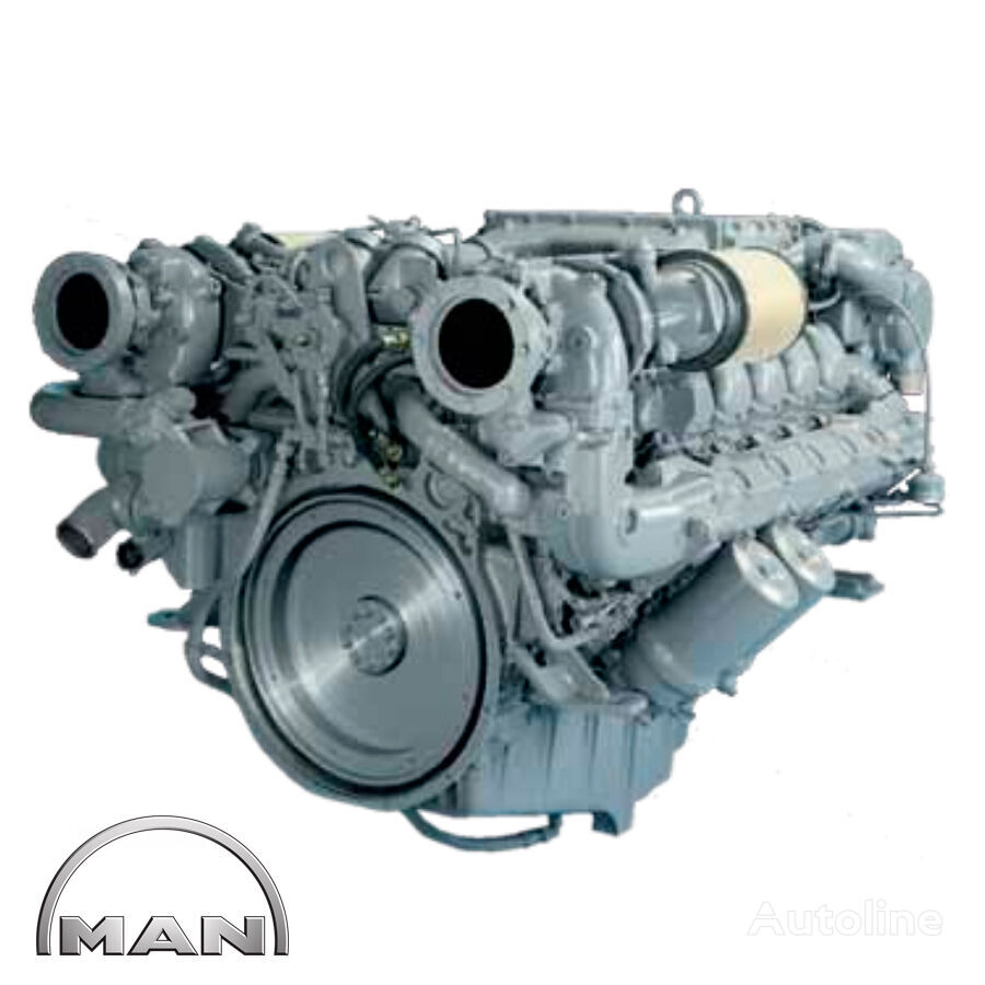 novi MAN MARINE V12-1580 D2842 LE409 motor za MAN kampera