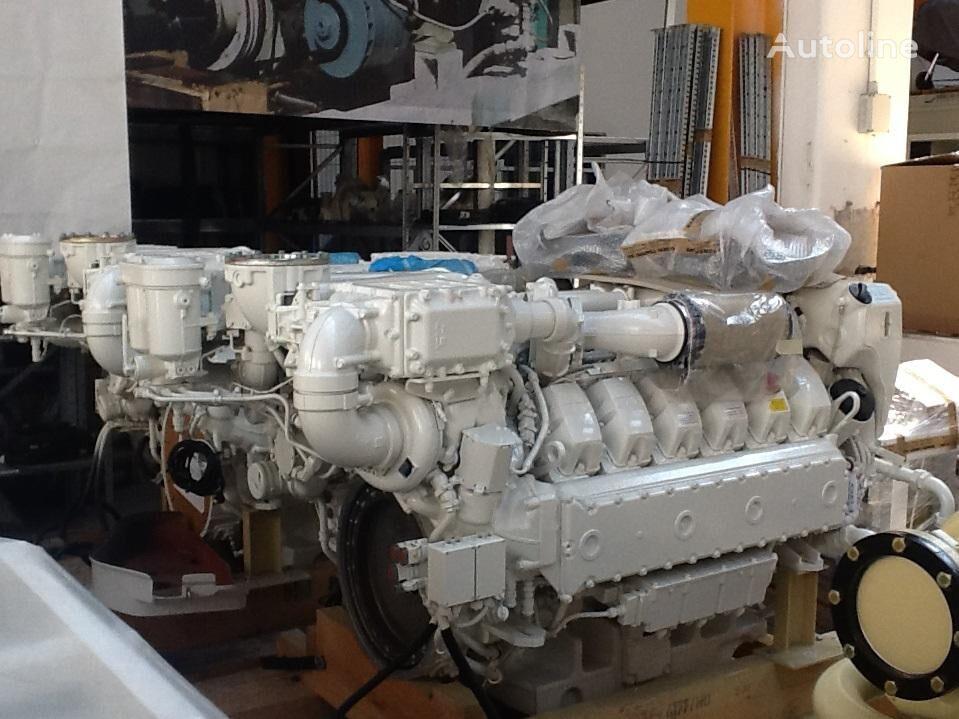 novi MAN V12-1800 MARINE motor za MAN D2862LE433 kampera