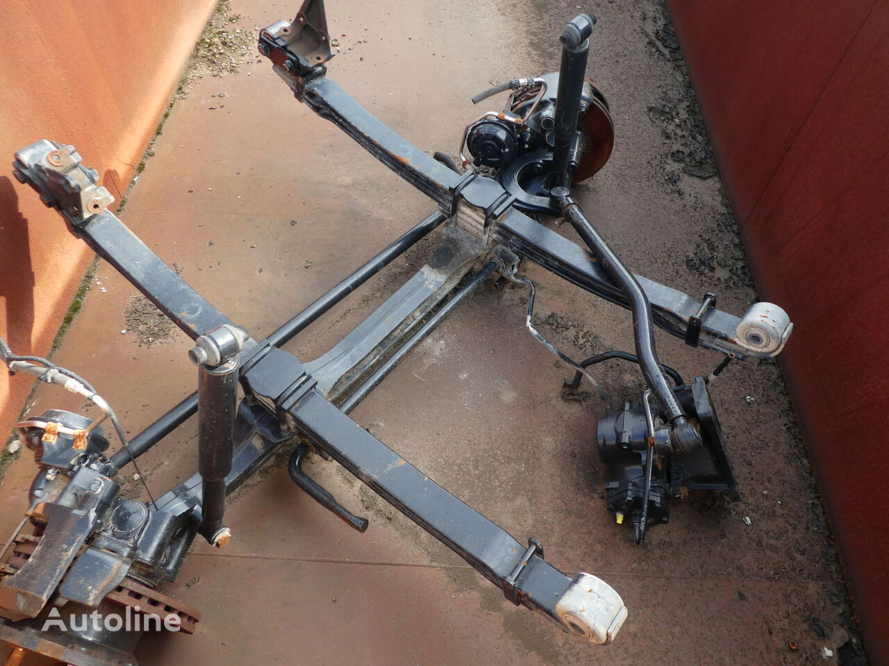 MAN TGA KIPPER/SCHWER LAST FZ TYP VP-09-01 ----81.44001.7055 osovina za MAN 18/19/20/26/32/33/35/40/41 ton kamiona