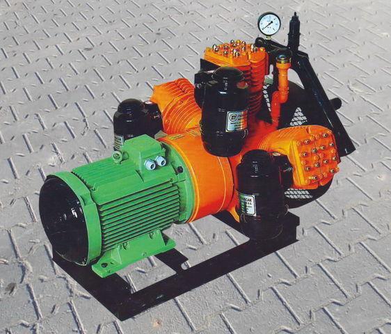 pneumatski kompresor za V3.16 tłokowy z silnikiem elektrycznym cisterne poluprikolice
