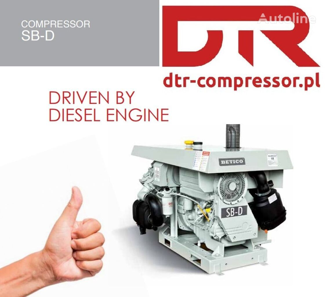 AGREGAT SPALINOWY BETICO SB-D NOWY WYDMUCHU DEUTZ pneumatski kompresor za Betico kompressor cisterne poluprikolice