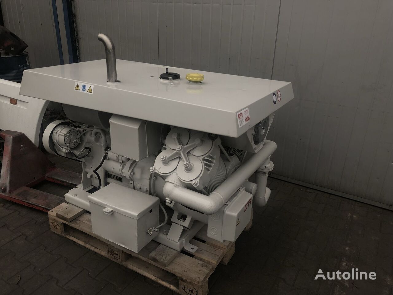 Betico sb1 pneumatski kompresor za Barico cisterne poluprikolice