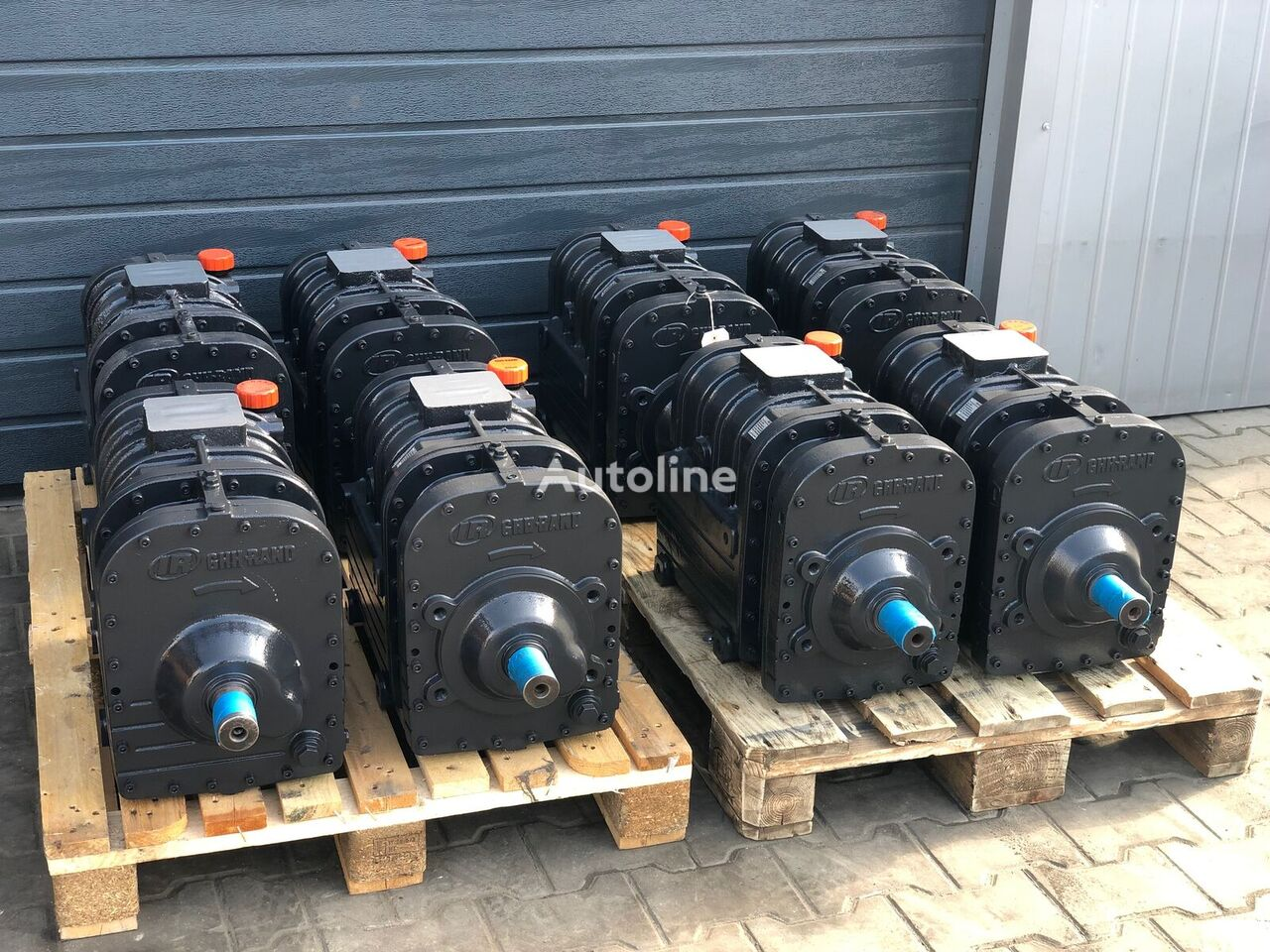 GHH Rand CS85 pneumatski kompresor za cisterne poluprikolice