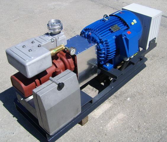 aggregate with 30kW electric engine and CG80 pneumatski kompresor za cisterne poluprikolice