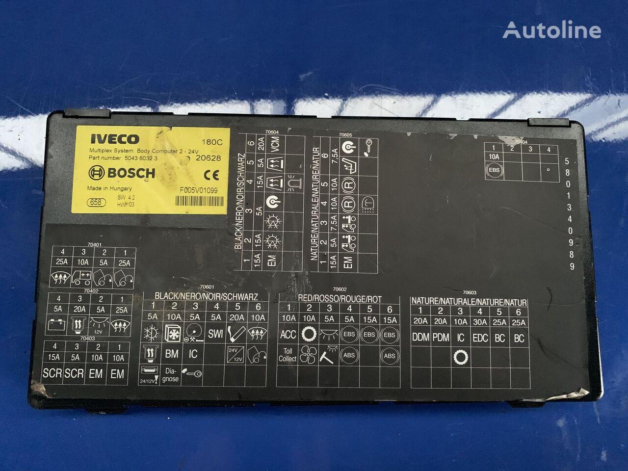 IVECO BOSCH 504360323 upravljačka jedinica za tegljača