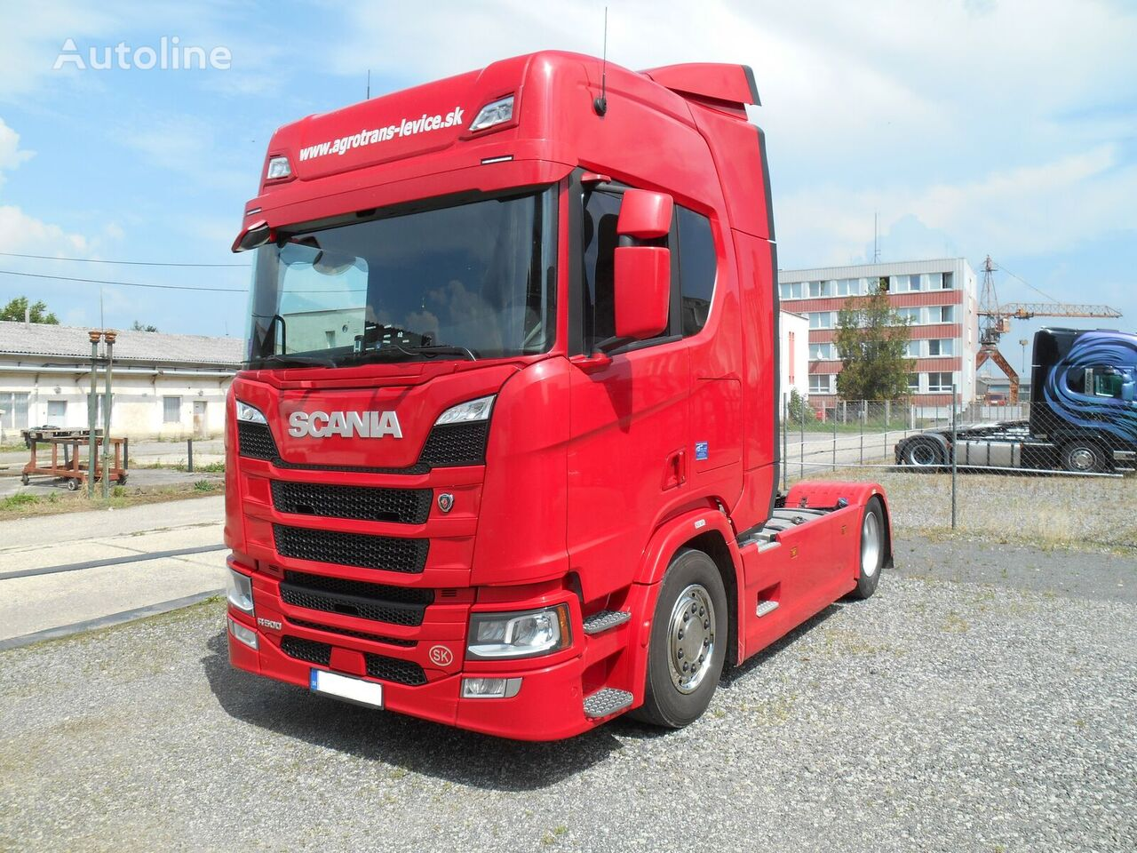 SCANIA IR  LER-500 ONLY SCR  FULL AD HEADLIGHTS tegljač