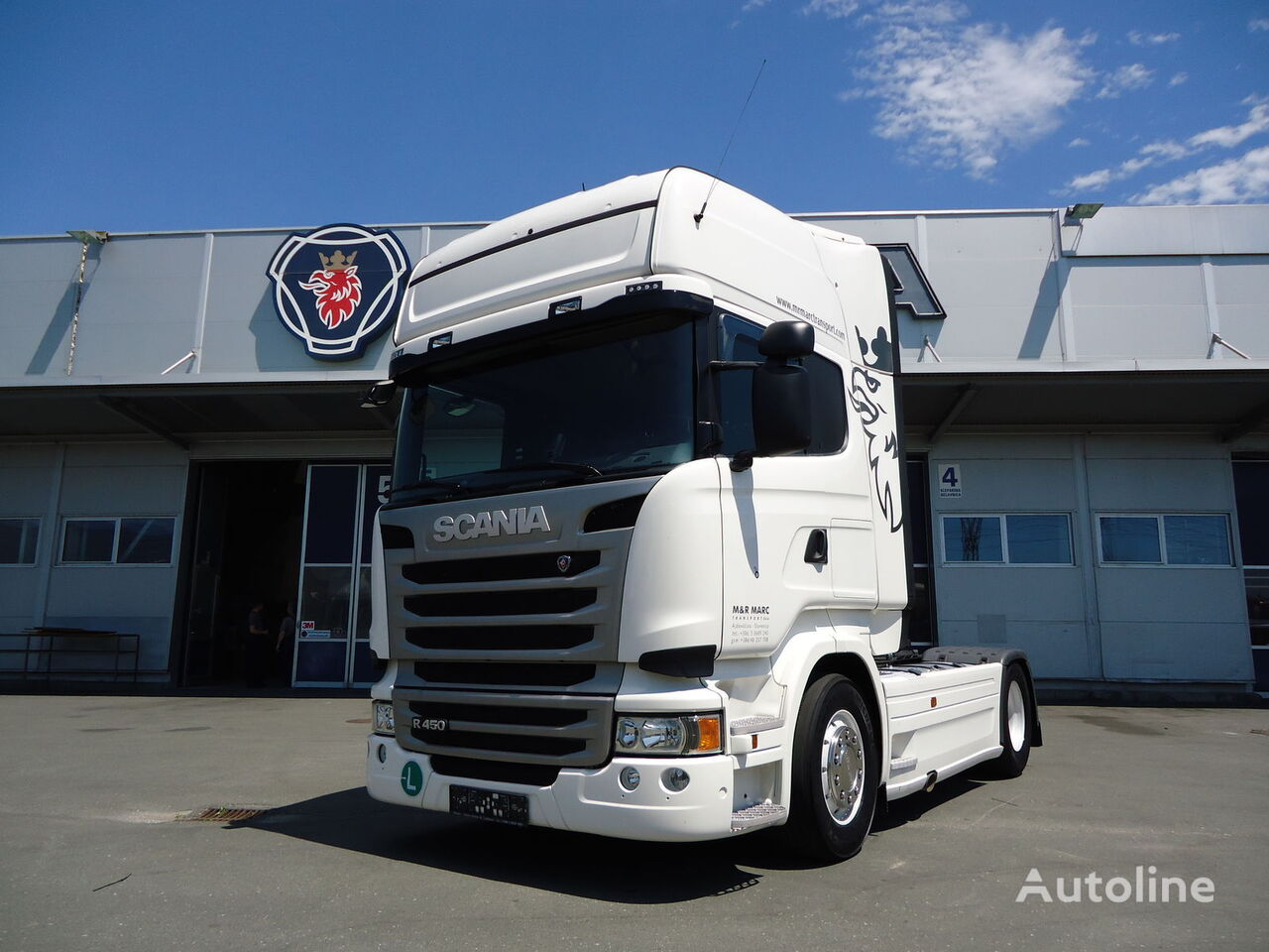 SCANIA R450 SOLD tegljač